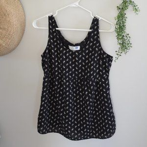 Old Navy Floral Maternity Tank Top
